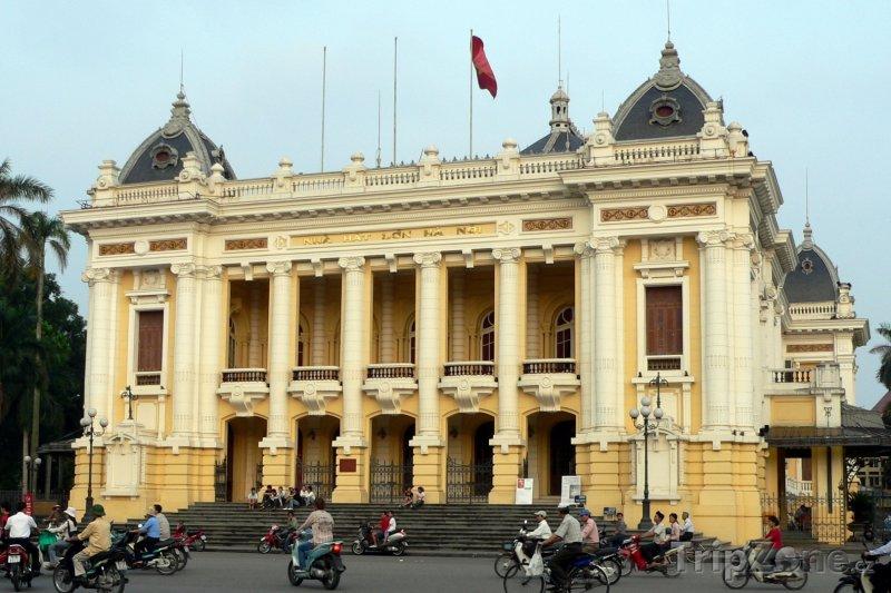 Fotka, Foto Hanojská opera (Hanoj, Vietnam)