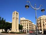 Hodinová věž v centru města