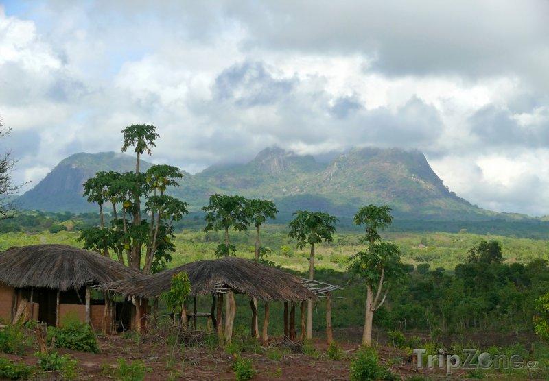 Fotka, Foto Hory v pohoří Lebombo (Mosambik)
