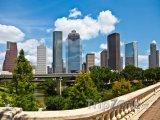 Houston, mrakodrapy v centru města