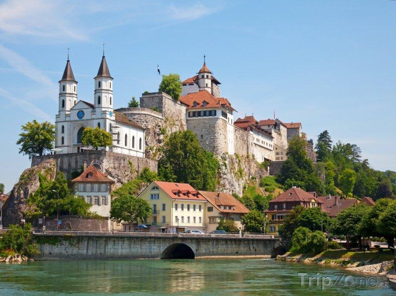 Fotka, Foto Hrad Aarburg (Švýcarsko)