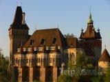 Hrad Vajdahunyad v Budapešti