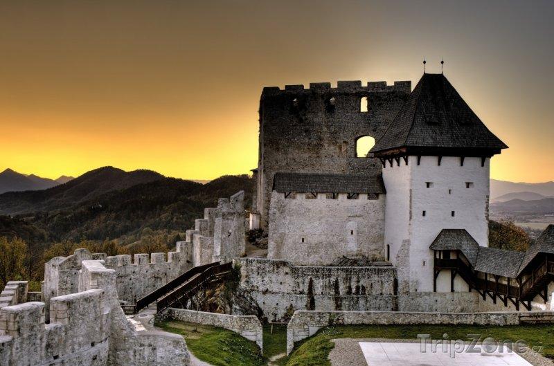 Fotka, Foto Hrad ve městě Celje (Slovinsko)