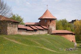 Hrad ve městě Kaunas