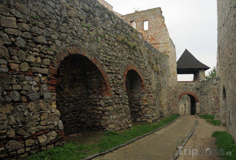Fotka, Foto Hradby Trenčínského hradu (Slovensko)