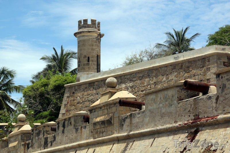 Fotka, Foto Isla de Margarita, pevnost ve městě Pampatar (Venezuela)