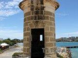 Isla de Margarita, věž na pevnosti ve městě Pampatar