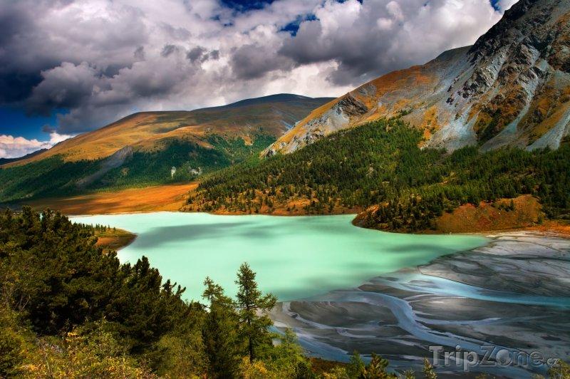 Fotka, Foto Jezero Akkem (Rusko)