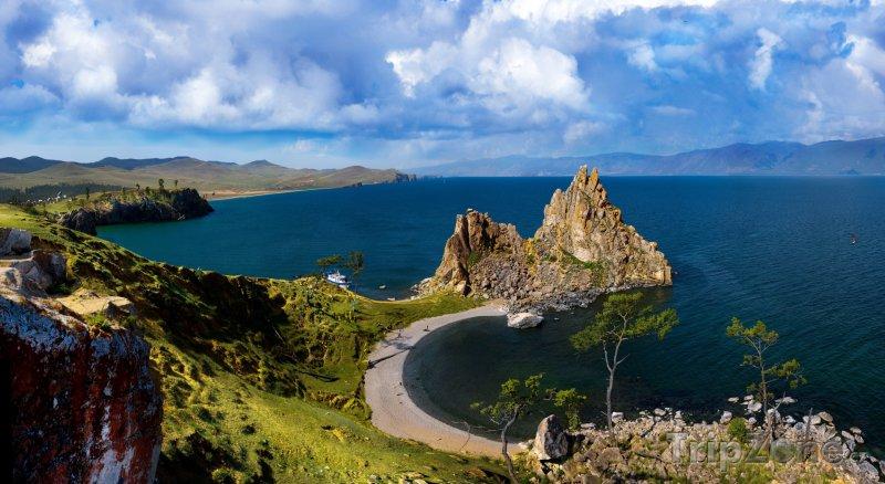 Fotka, Foto Jezero Bajkal a ostrov Oľchon (Rusko)