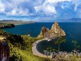 Jezero Bajkal a ostrov Oľchon