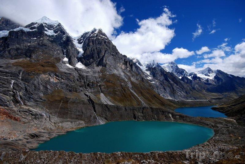 Fotka, Foto Jezírka v Andách (Peru)