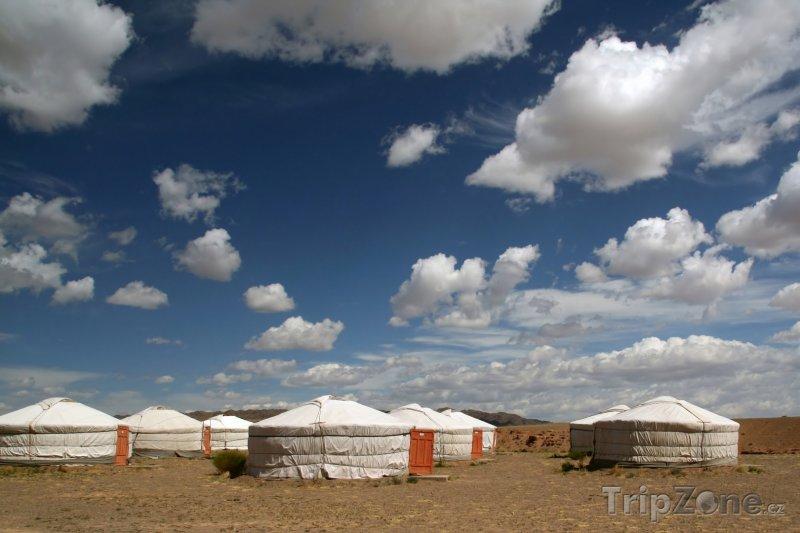 Fotka, Foto Jurty v poušti Gobi (Mongolsko)