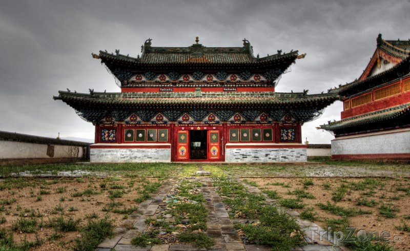 Fotka, Foto Karakorum, buddhistický klášter Erdene-Zuu Chijd (Mongolsko)
