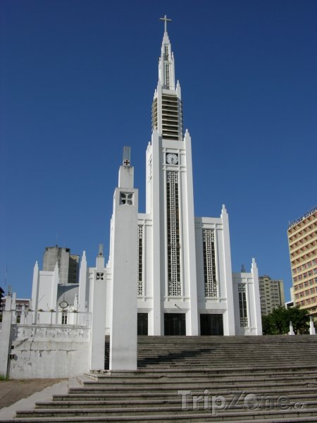 Fotka, Foto Katedrála ve městě Maputo (Mosambik)