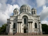 Kaunas, katedrála sv. Petra a Pavla