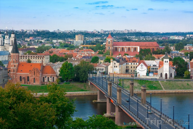 Fotka, Foto Kaunas panorama (Litva)