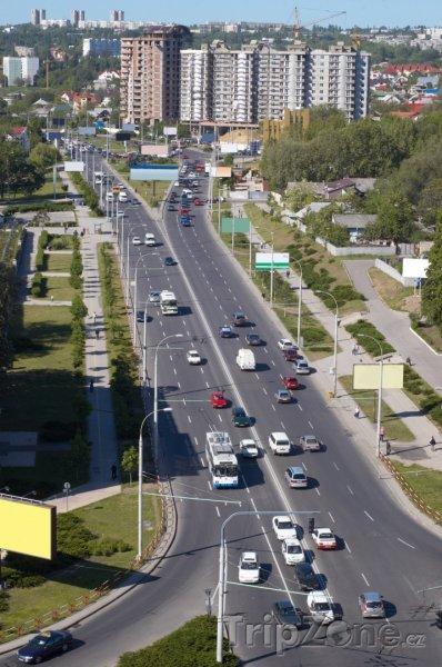 Fotka, Foto Kišiněv, hlavní třída (Moldavsko)