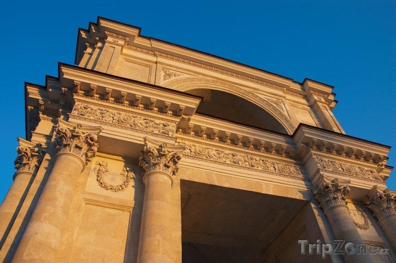 Fotka, Foto Kišiněv, Vítězný oblouk (Moldavsko)