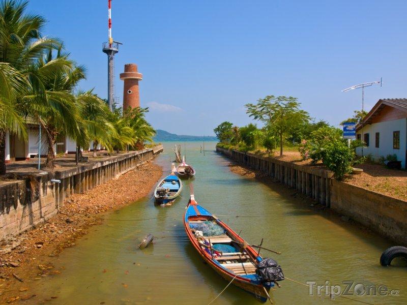 Fotka, Foto Ko Lanta, kanál (Thajsko)