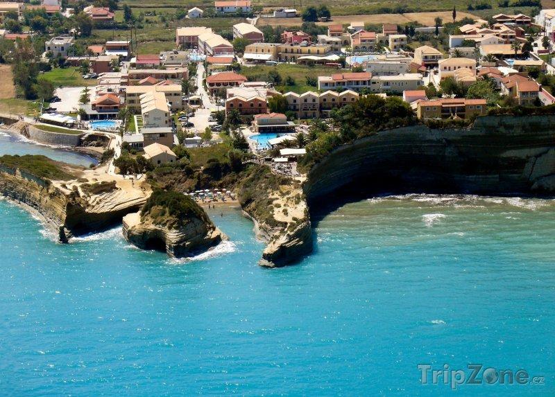Fotka, Foto Korfu, pláž Canal d'amour v Sideri (Řecko)