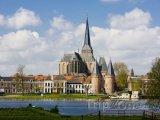 Kostel Bovenkerk ve městě Kampen
