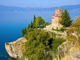 Kostel Jovan Kaneo nad Ohridským jezerem