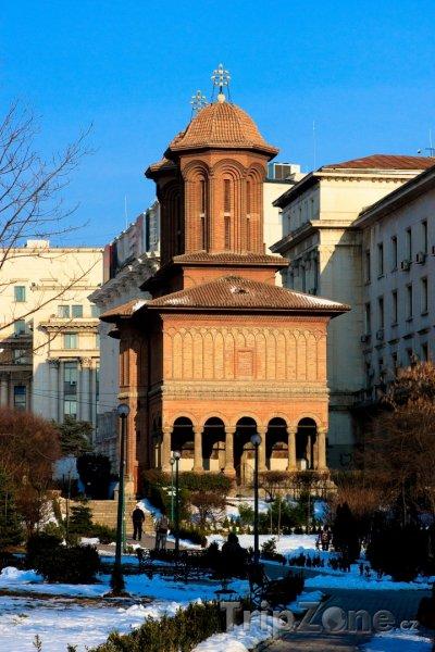 Fotka, Foto Kostel Kretzulescu (Bukurešť, Rumunsko)