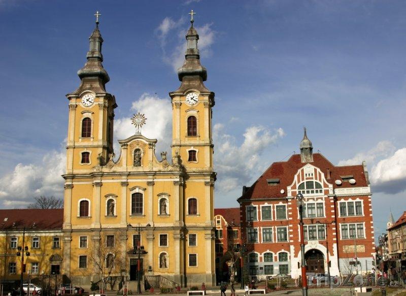 Fotka, Foto Kostel Mindszent ve městě Miskolc (Maďarsko)