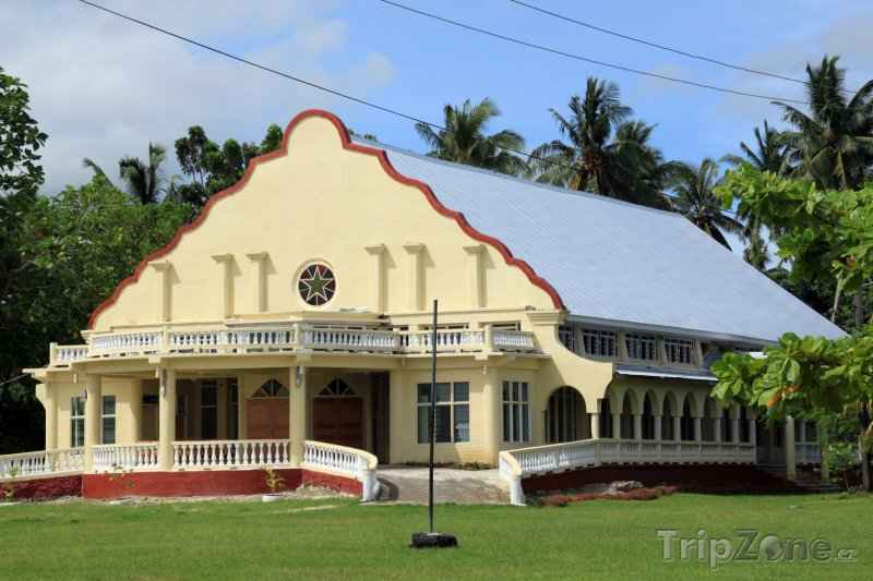 Fotka, Foto Kostel na ostrově Savaii (Samoa)