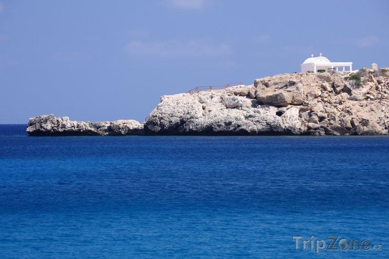 Fotka, Foto Kostel na útesu (Kypr)