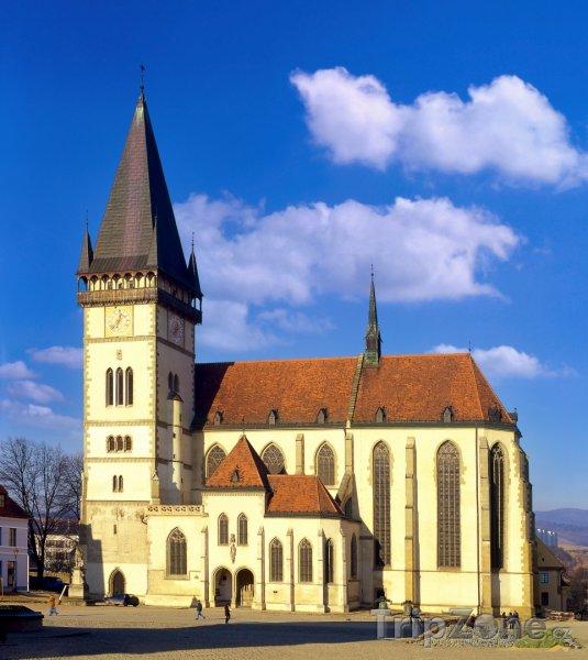 Fotka, Foto Kostel sv. Egídia v Bardejově (Slovensko)
