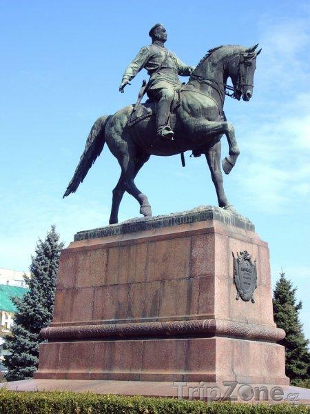 Fotka, Foto Kotovského socha v Kišiněvu (Moldavsko)