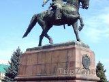 Kotovského socha v Kišiněvu