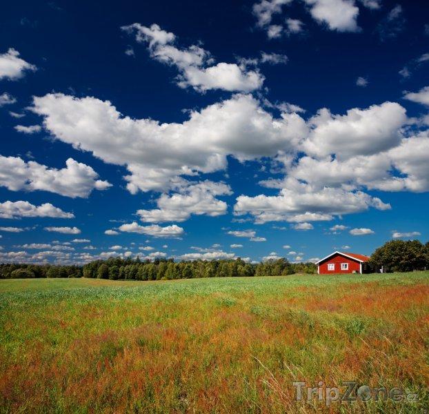 Fotka, Foto Krajina švédského venkova (Švédsko)