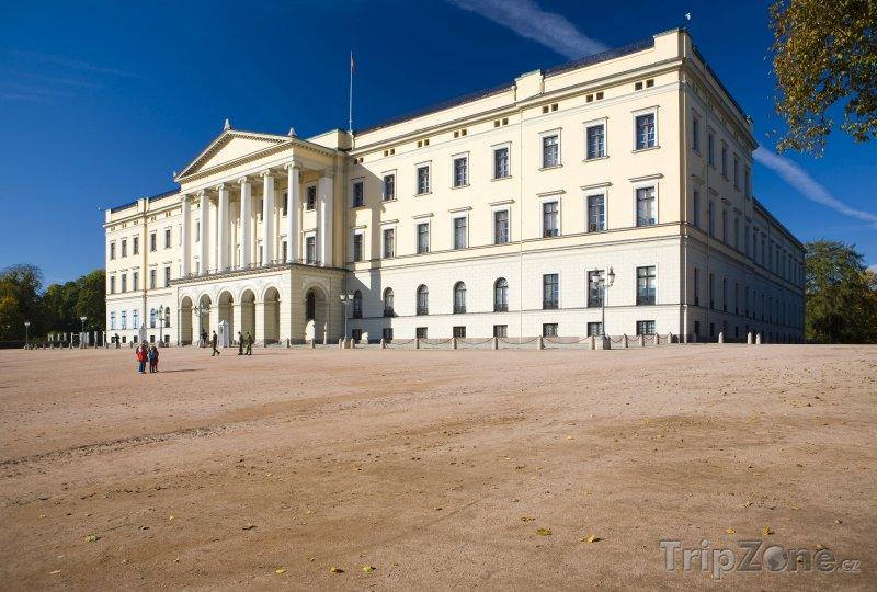 Fotka, Foto Královský palác (Oslo, Norsko)