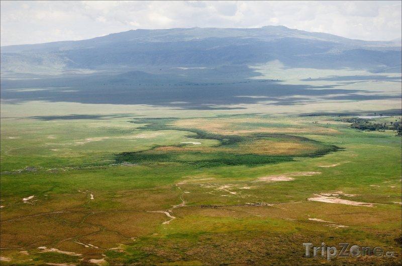 Fotka, Foto Kráter Ngorongoro (Tanzanie)