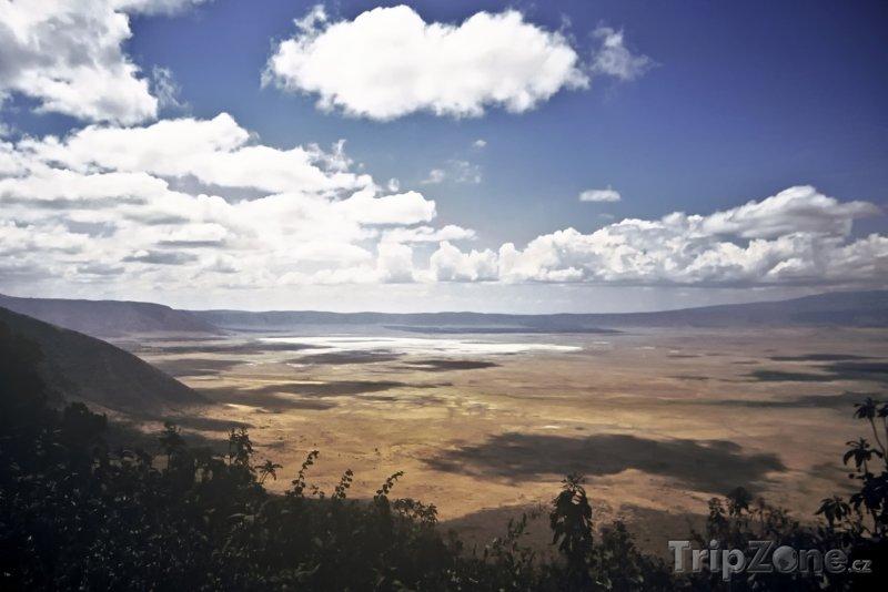 Fotka, Foto Kráter v území Ngorongoro (Tanzanie)