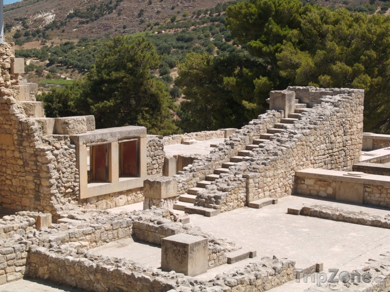 Fotka, Foto Kréta, archeologická lokalita Knóssos (Řecko)