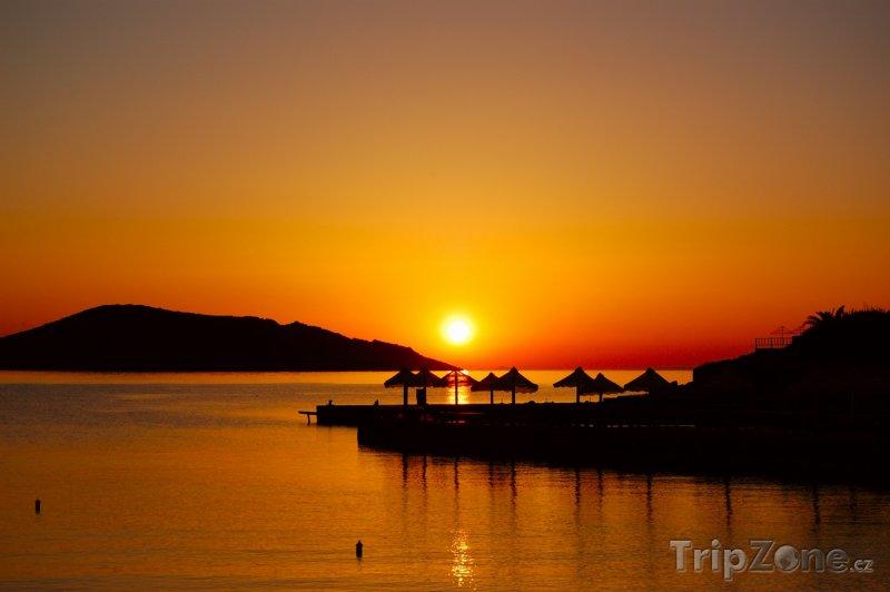 Fotka, Foto Kréta v západu slunce (Řecko)