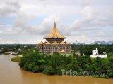 Kuching, nové sídlo parlamentu