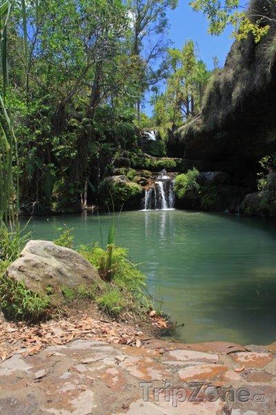 Fotka, Foto Laguna v národním parku Isalo (Madagaskar)