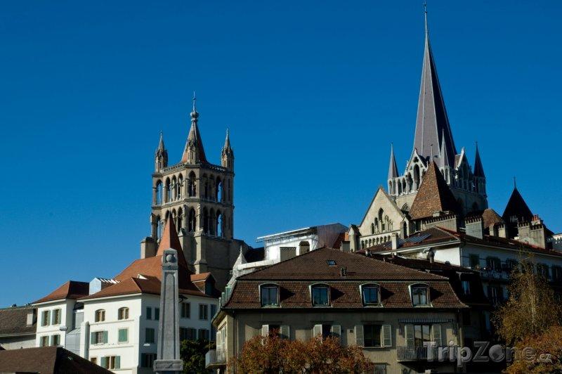 Fotka, Foto Lausanne, katedrála (Švýcarsko)