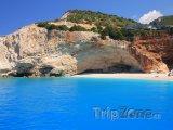 Lefkada, famózní pláž Porto Katsiki