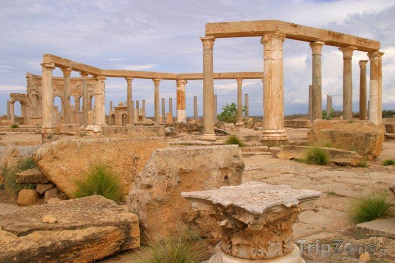 Fotka, Foto Leptis Magna (Libye)
