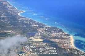 Letecký pohled na Punta Cana