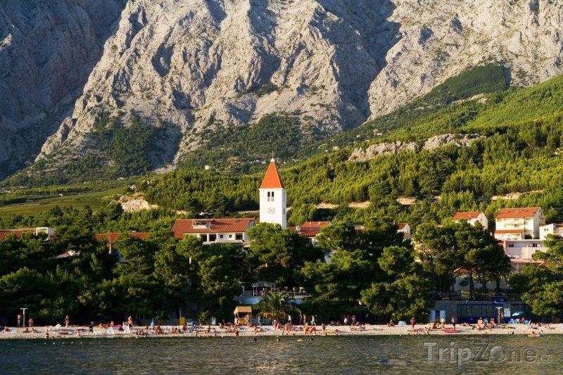 Fotka, Foto Letovisko Promajna (Makarská riviéra, Chorvatsko)