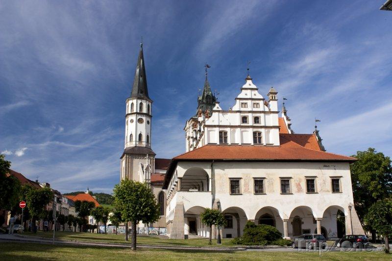 Fotka, Foto Levoča, Mariánská bazilika (Slovensko)