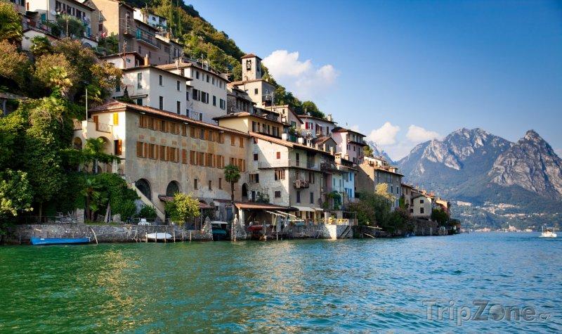 Fotka, Foto Luganské jezero (Švýcarsko)