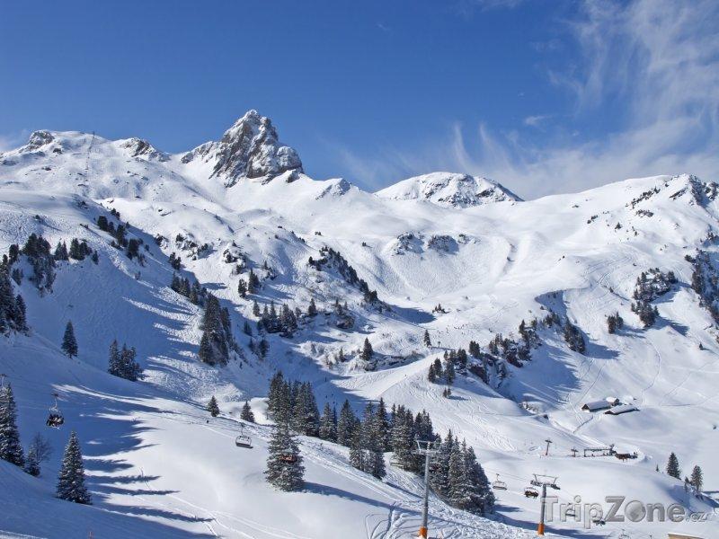 Fotka, Foto Lyžařský resort Flumserberg (Švýcarsko)