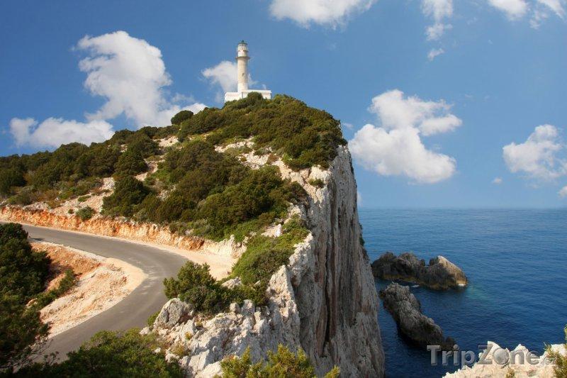Fotka, Foto Maják na ostrově Lefkada (Řecko)